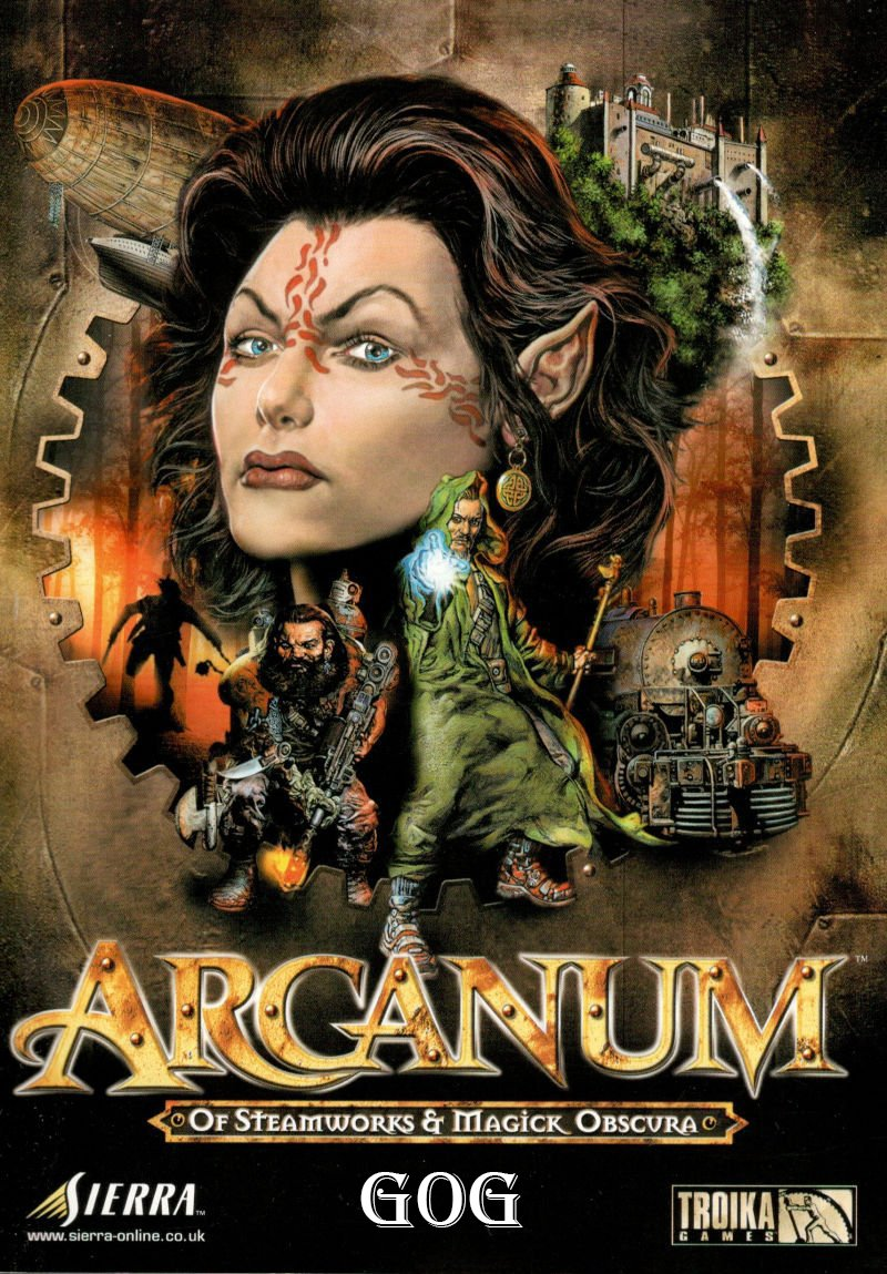Arcanum: Of Steamworks and Magick Obscura [GOG] (2001) PC | Лицензия
